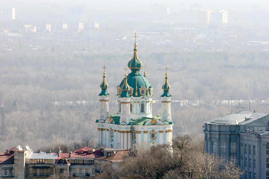 Андреевская церковь: храм-украшение